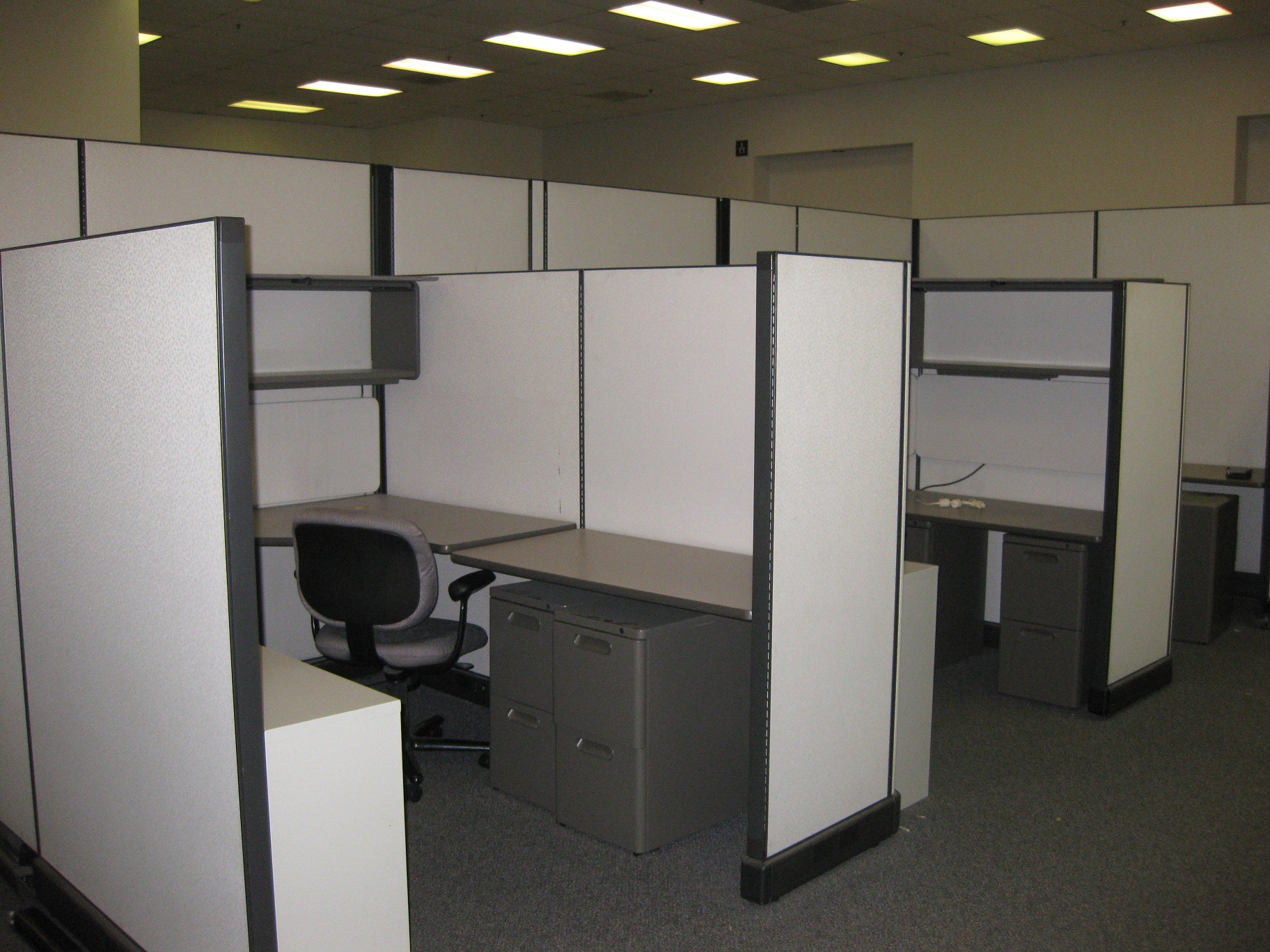 Office Partitions   System Furniture   Used Office Cubicles In Orange  County : Santa Ana, Anaheim, Fullerton, La Mirada Yorba Linda, Cypress,  Buena Park, ...