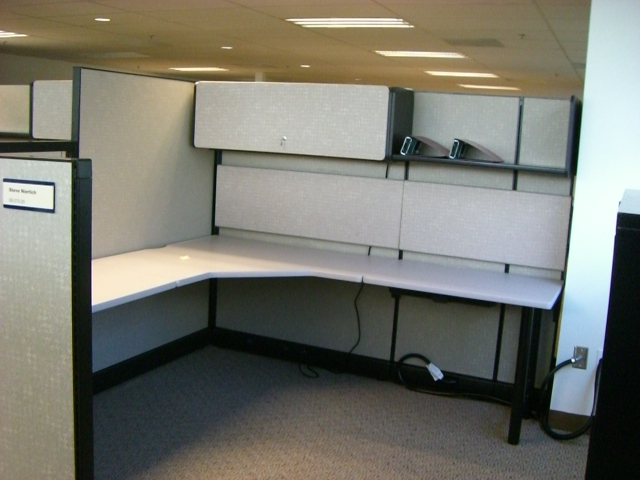 cubicles in Ventura-partition, system furniture logo