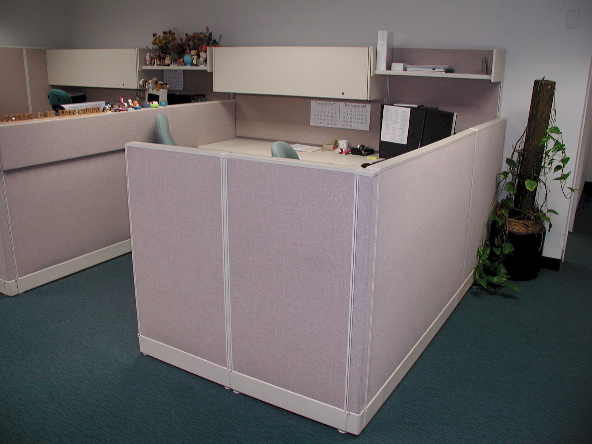 used office cubicles liquidation in escondido ca, refurbished