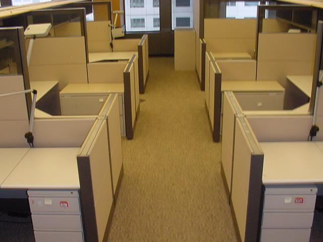 Used Office Cubicles Liquidation In Pomona CA Refurbished