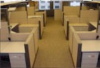 used office cubicle image 2